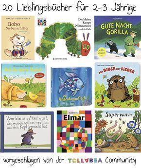 Lieblingsbücher zum Vorlesen – Die schönsten Kinderbücher für 2-3jährige