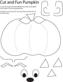 Cut and Create Pumpkin Crafts