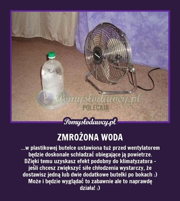 KLIMATYZATOR ZA GROSZE - PROSTY PATENT NA UPAŁY! :D