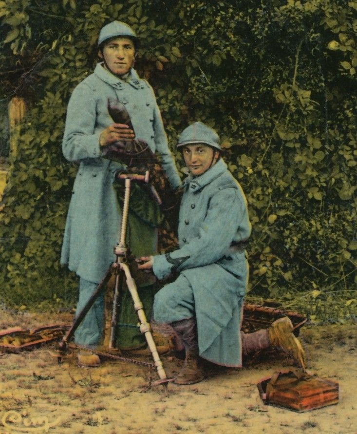 Thomas Wictor, Flickr; WWI, French Mortar Squad.