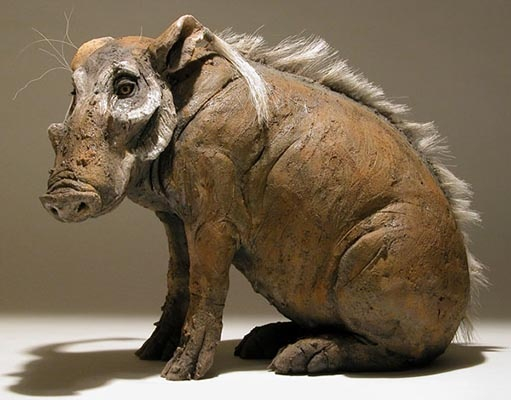 clay sculpture animals - photo #5