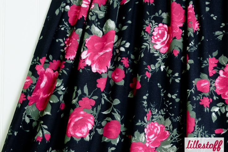 Lillestoff Woman » Black Rose « // ausverkauft