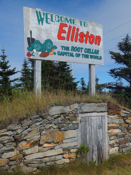 Newfoundland-Elliston - Root Cellar Capital of the World