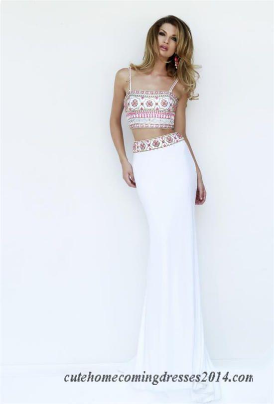 Long prom dresses for less