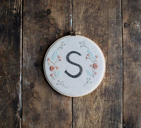 Try a hand-stitched housewarming gift. #etsy #etsyfinds