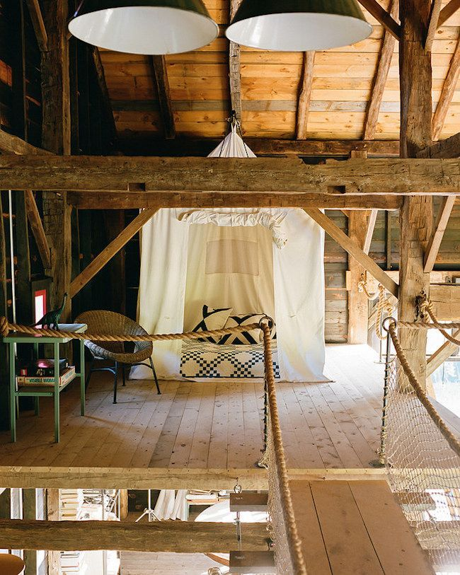 A 19TH CENTURY BARN IN HUDSON VALLEY