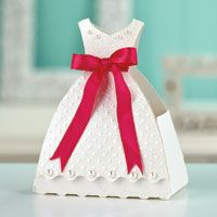 Beautiful Bride Favor Box   March/April 2013   Paper Crafts
