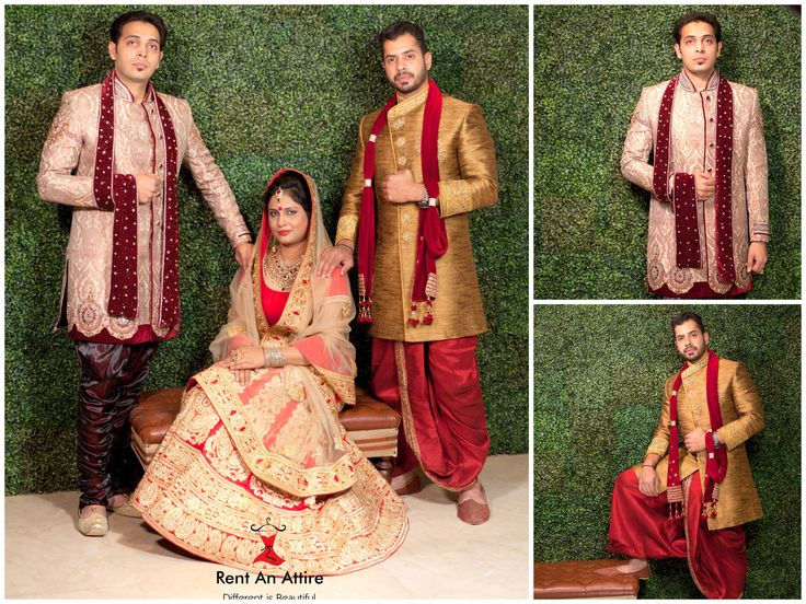Grab our Handpicked Finely Crafted Sherwani & Bridal Lehenga collection.. And look Royal on your Wedding day!! Try it ♡ Book it ♡ Flaunt it