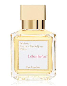 Le Beau Parfum marki Maison Francis Kurkdjian to kwiatowe perfumy dla kobiet. Poczujemy w nich tuberozę, madagaskarski ylang-ylang, kwiat tunezyjskiej pomarańczy i indyjski jaśmin.