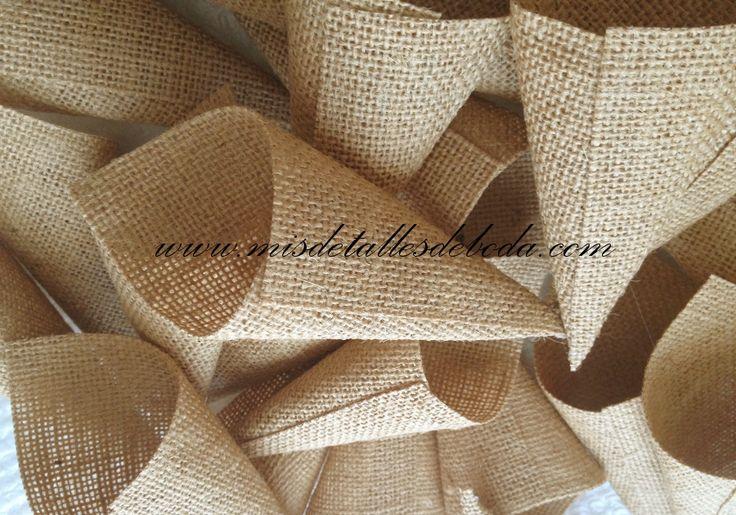 conos de yute para arroz jute cones for rice