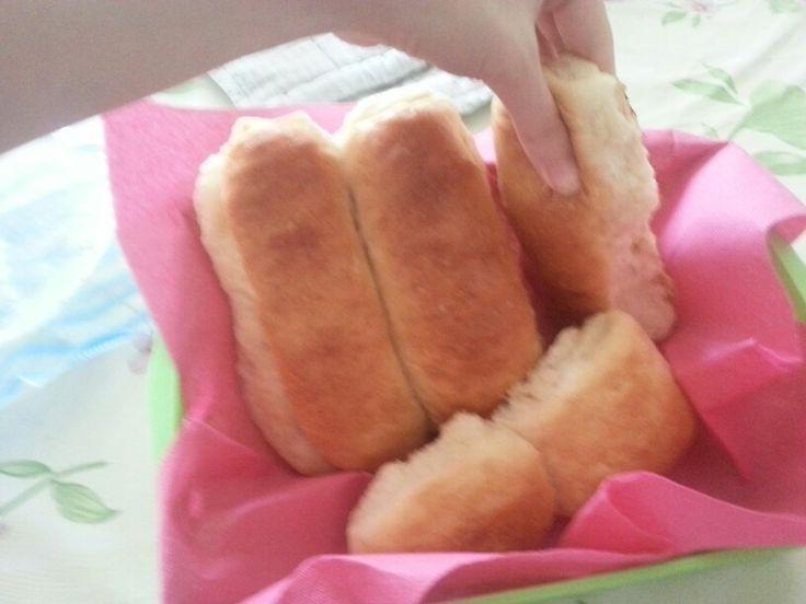 I miei panini al latte soffici soffici:)