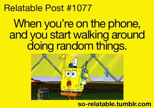Yeah and then you start wondering what the person would think if they saw you :D