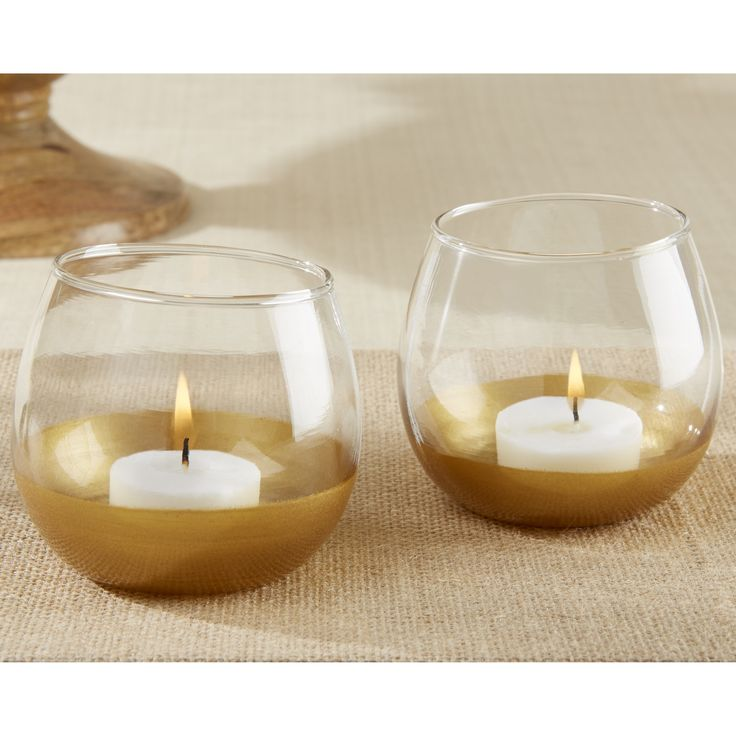 Kate Aspen Glass Votive Holder