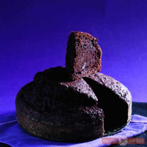 Céklás csokitorta