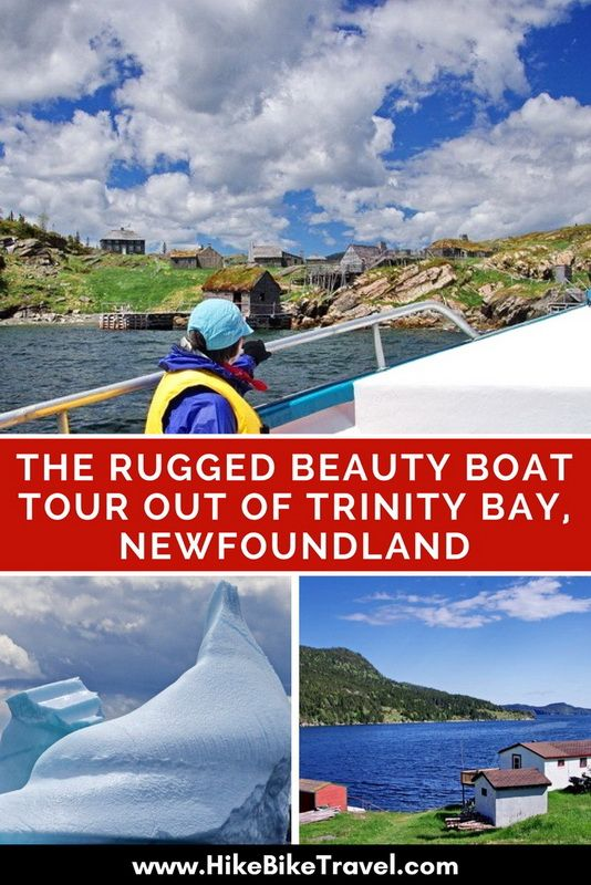 The Rugged Beauty Boat Tour out of Trinity Bay, Newfoundland - for whales, icebergs and Newfoundland stories
