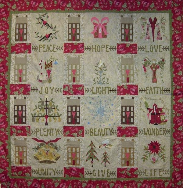 Robyn Pandolph Home For The Holidays Quilt Pinterest