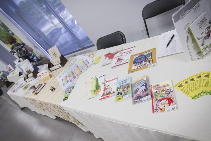 Danielle Malenfant (La Plume Rousse) a publié plus de 45 différents produits : des jeux éducatifs, des romans-lettres, des pièces de théâtre, des albums illustrés, des affiches, etc.