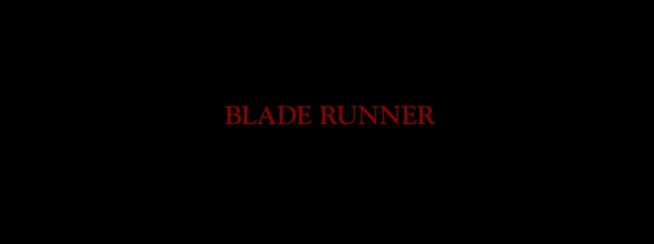 Blade Runner - Blu-ray and HD DVD - Harrison Ford