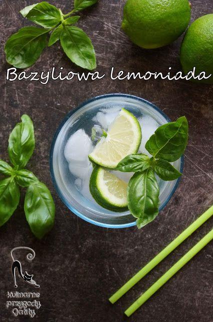 Kulinarne przygody Gatity: Lemoniada  bazyliowa II