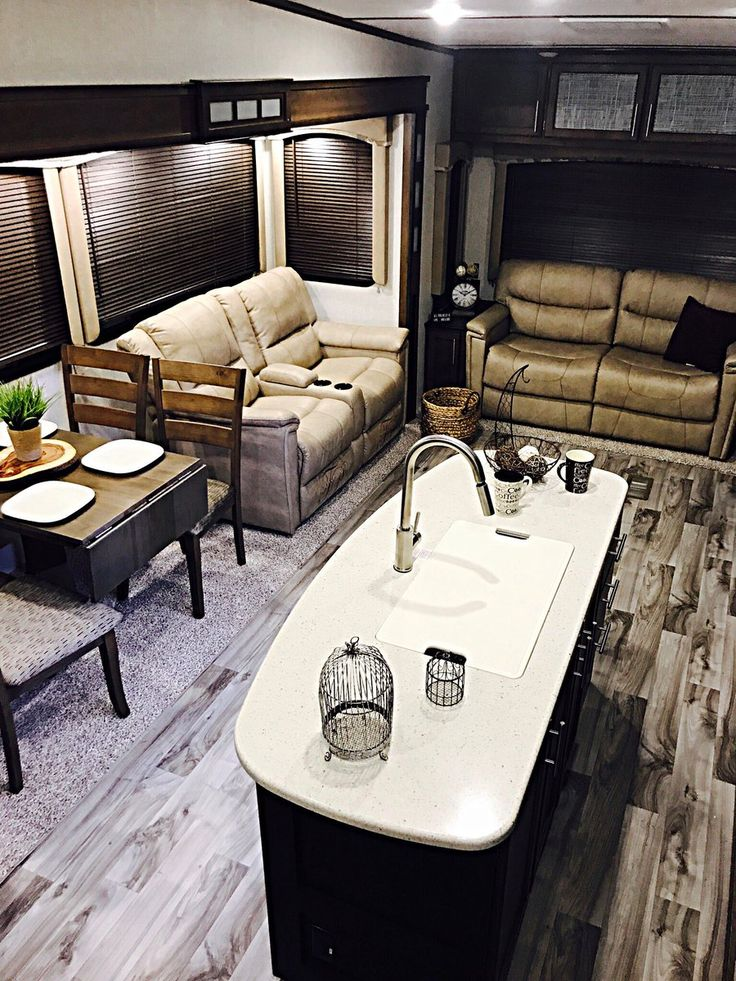 But for longer stays, be sure you're comfortable with the size. Room for us, mom and dad? Sometimes we miss the queen-sized mattress offered by our travel trailer. Before any purchases, head to an RV dealership to walk through various models of both motorhomes and travel trailers. It will g...