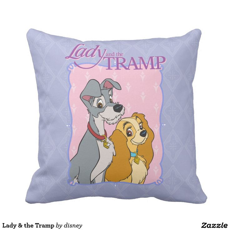 Lady & the Tramp. Regalos, Gifts. #cojín #pillow