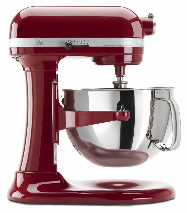 Kitchenaid KP26M1X Pro 600 Stand Mixer 6-qt Super Big Large Capacity Many Colors #KitchenAid