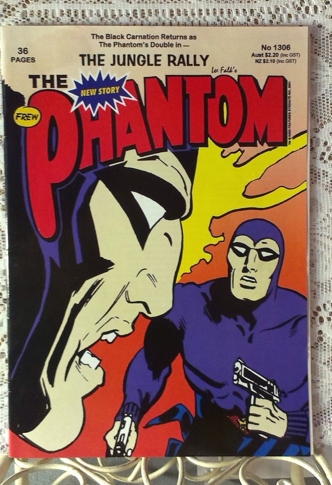 The phantom comic book no 1303 the ghost house 36 pages