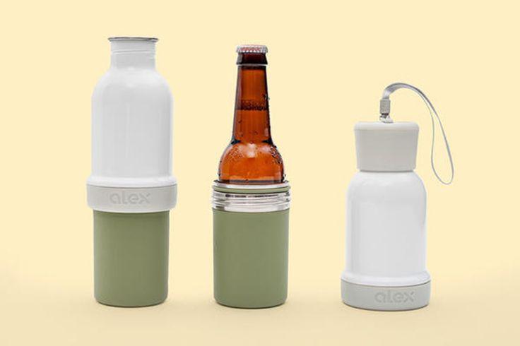 不算創新卻是人人需要,中段可旋開的保溫瓶 ALEX Bottle (87120) - 癮科技