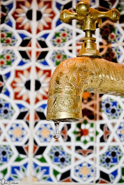 Zellij Morocco Hammam www.secretsdesmarocaines.com