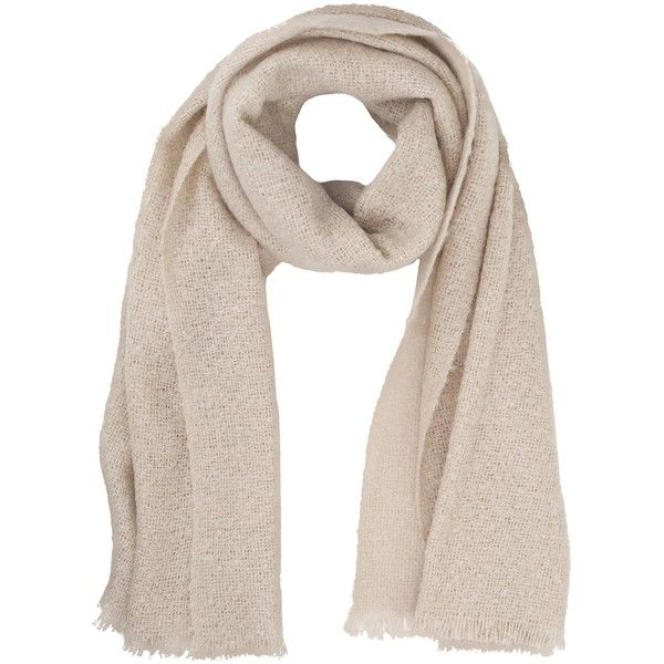 French Connection Sara Large Scarf , Barley Sugar ($70) ❤ liked on Polyvore featuring accessories, scarves, barley sugar, oversized scarves and french connection