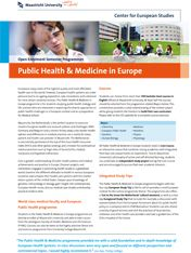 Public Health & Medicine in Europe  #studyabroad #travel #europe #CES #CESMaastricht #Maastrichtuniversity #exchange