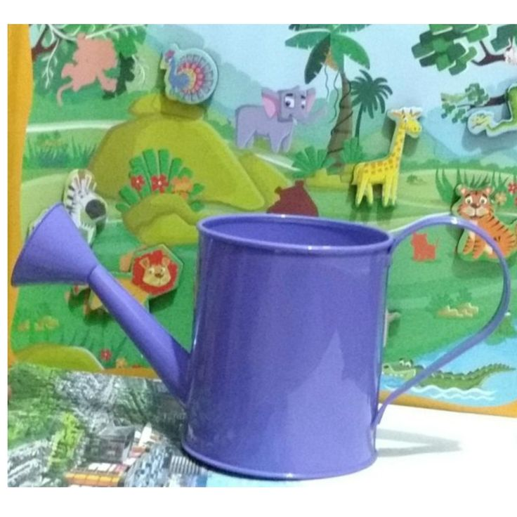 Garden Party Theme Watering Cans