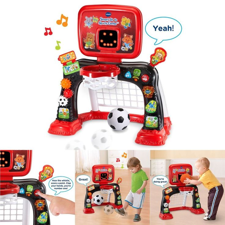 Developmental Baby Toys 2-in-1 Smart Shots Sports Center Educational Toddler New