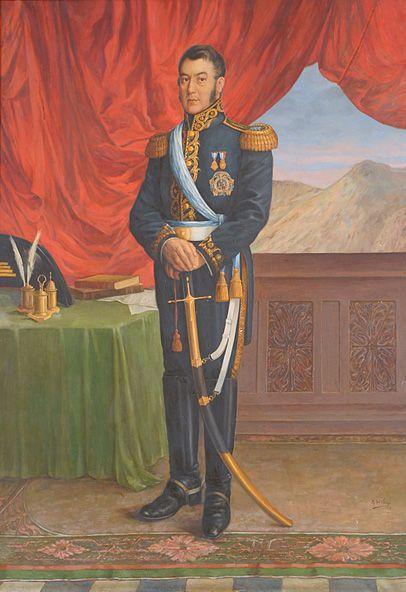 San Martín, Rafael del Villar