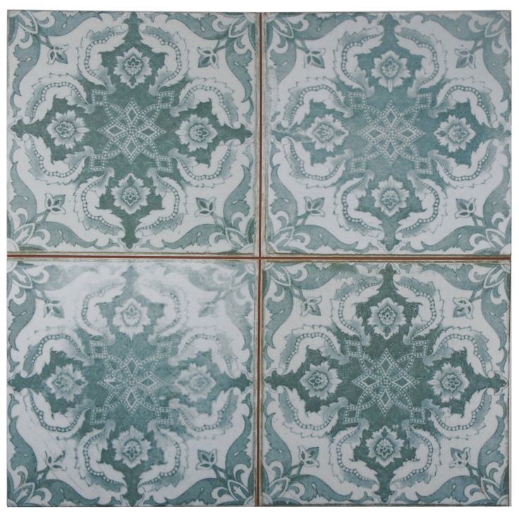 Somertile 17 63x17 63 Inch Royals Seagate Ceramic Floor