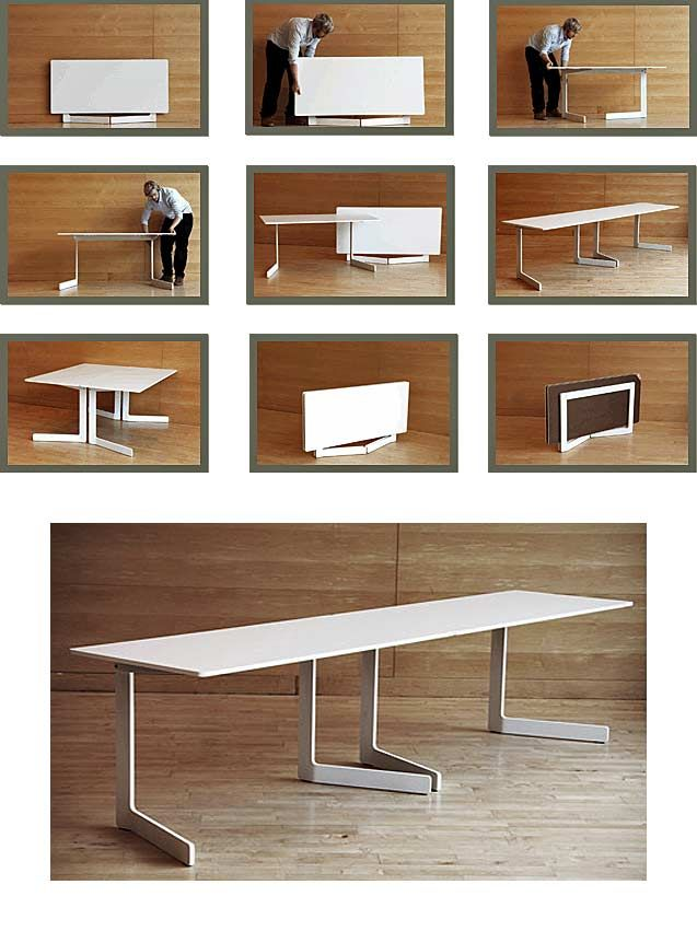 8 best folding dining table images on pinterest dining for Small den furniture layout