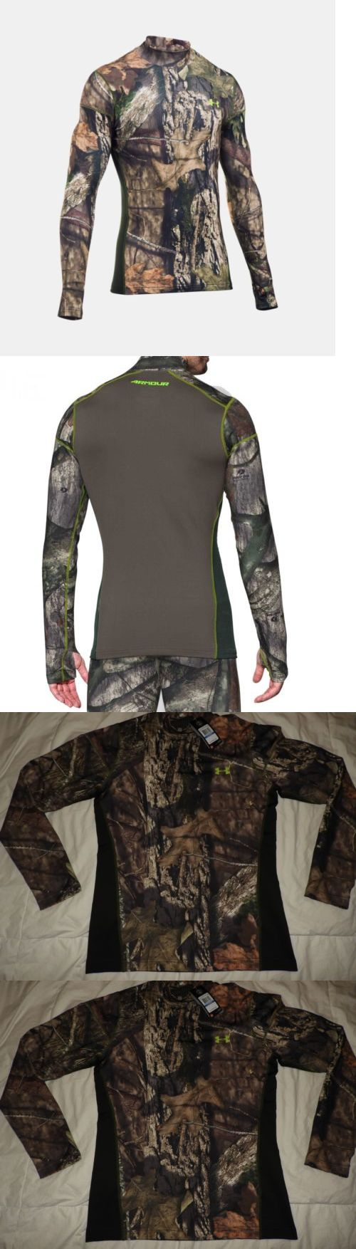 Base Layers 177867: Under Armour Scent Control Evo Mock Mossy Oak Camo Men 1259129 278 Xl Cold Gear -> BUY IT NOW ONLY: $49.99 on eBay!