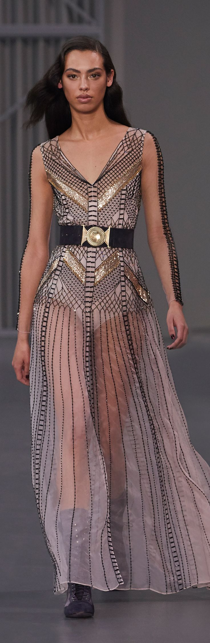Pre-order the Temperley London Winter 2018 Insignia Cut-out Dress by Alice Temperley