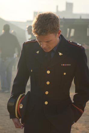 """Christopher Egan as David Shepherd in """"Kings."""""""
