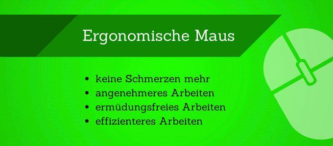 Die Vorteile einer ergonomischen Maus liegen wortwörtlich auf der Hand :-) #Ergonomie