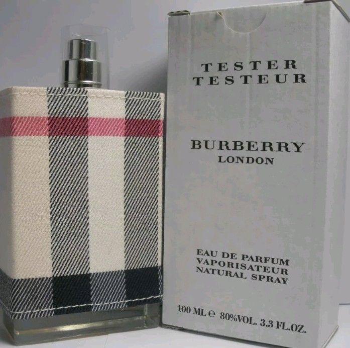 3 Tester With Oz Burberry Spray Edp Fabric Perfume London Women 3 8n0wvmNO