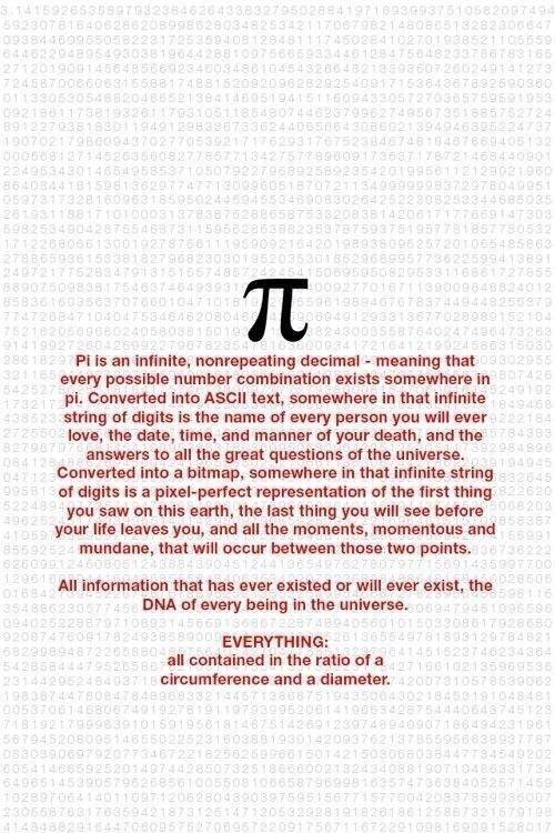 Pi Is Strange