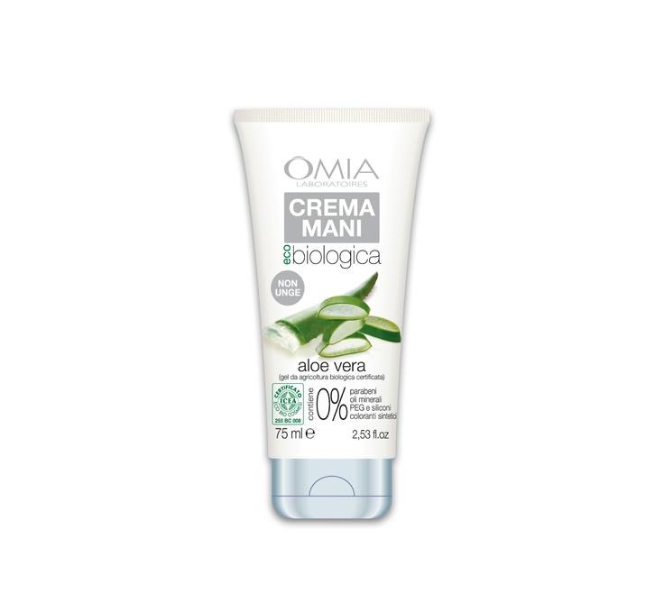 Crema Mani all'Aloe Vera della Linea Eco bio. Questo Crema mani è particolarmente indicata per persone con mani secche e delicate.