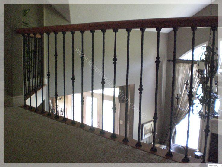 rod iron banisters | Wrought Iron Railing / RAILING_323.JPG