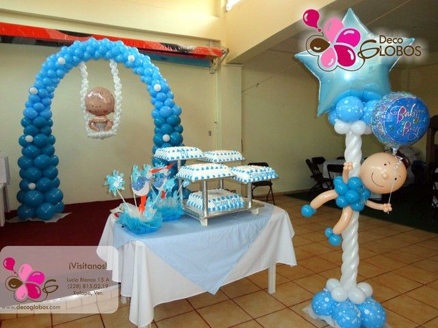 27 best baby shower images on pinterest searching girl - Decoracion para baby shower nino ...
