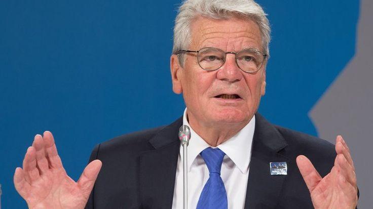 """Bundespräsident Joachim Gauck: """"Unsere Möglichkeiten sind endlich"""""""