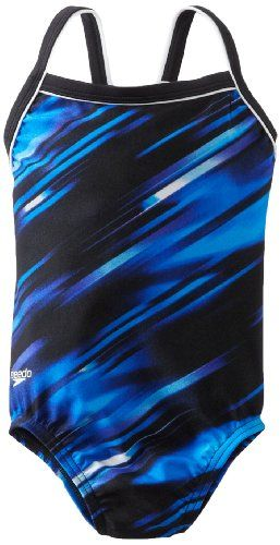 CLICK IMAGE TWICE FOR INFO AND PRICE :) #bikini #bikinis #swimsuit #swimsuits #womens #swimwear #onepiece #onepieceswimsuit SEE MORE variety of the one piece swimsuit at http://zbikinis.com/category/bikini-categories/one-piece-swimsuit/ -  Speedo Girls 7-16 Youth Fractal Point Flyback Xtra Life Lycra Swimsuit, Blue, 8/24 « zBikinis.com