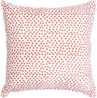 IKKA DUKKA HAND BLOCKED RED CUSHION COVER Cushion Cover