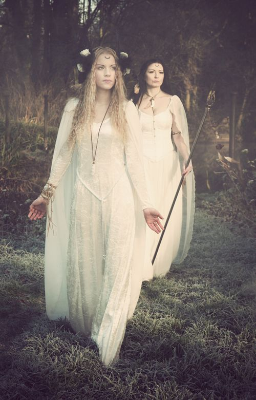 Fantasy Photography, pagan, white witch
