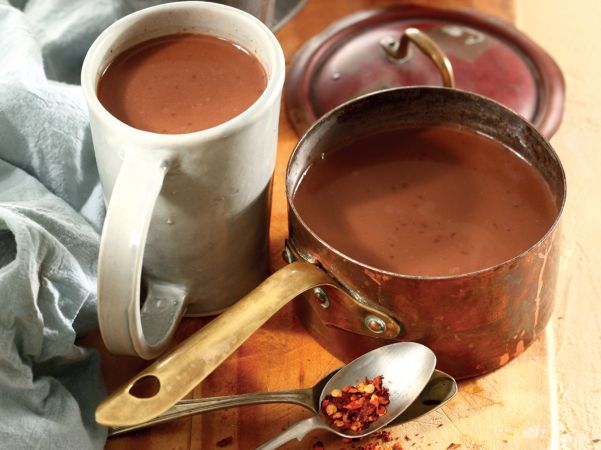 Mexican hot chocolate • Only the most serious of chocoholics can handle this decadent, spicy treat!